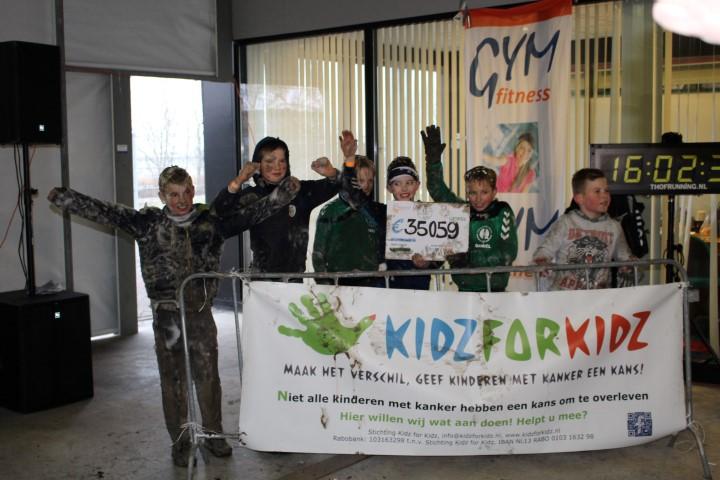 Jubileumeditie Kidz for Kidz Survival op 25 januari