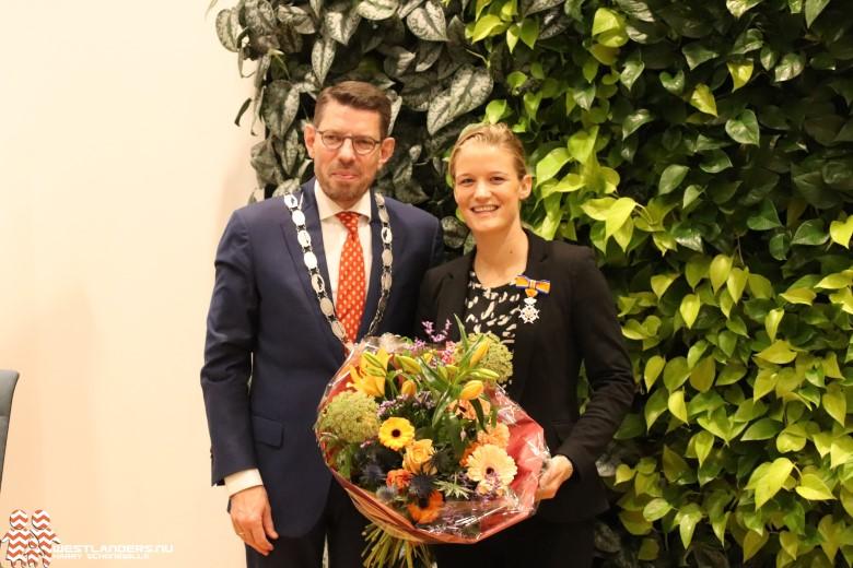 Koninklijke onderscheiding voor Mandy van den Berg