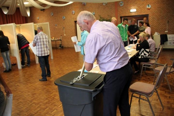 Vandaag verkiezingen Provinciale Staten en Waterschappen