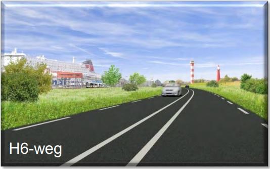 Wegafsluiting Haakweg vanwege aanleg rotonde en H6 weg