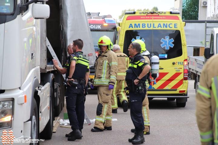 Zwaar gewonde bij bedrijfsongeval Nieuw Oranjekanaal