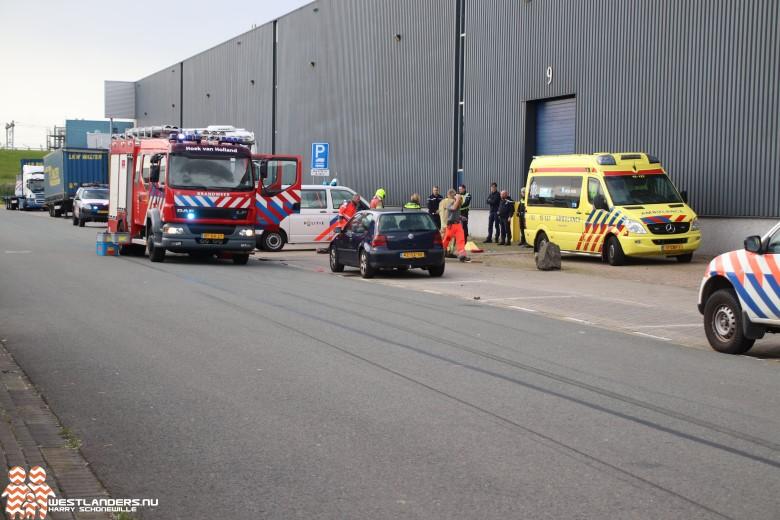 Chauffeur ernstig gewond na explosie in truck