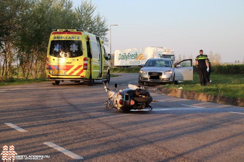 Ernstig ongeluk op parallelweg Hoeksebaan