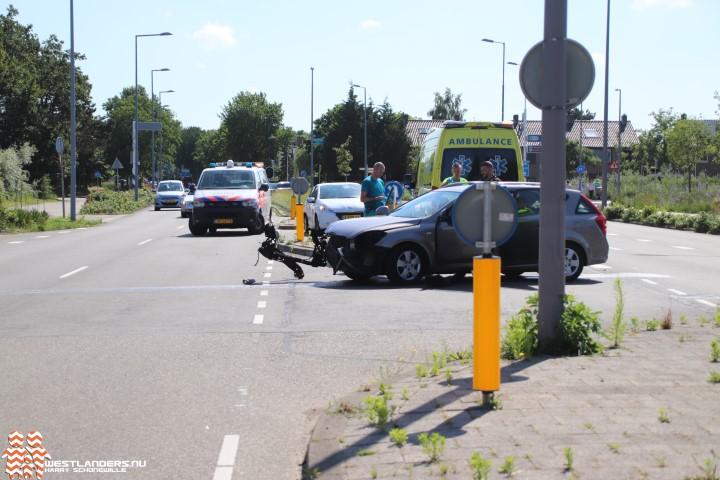 Vijf ongelukken op de vrijdagmiddag
