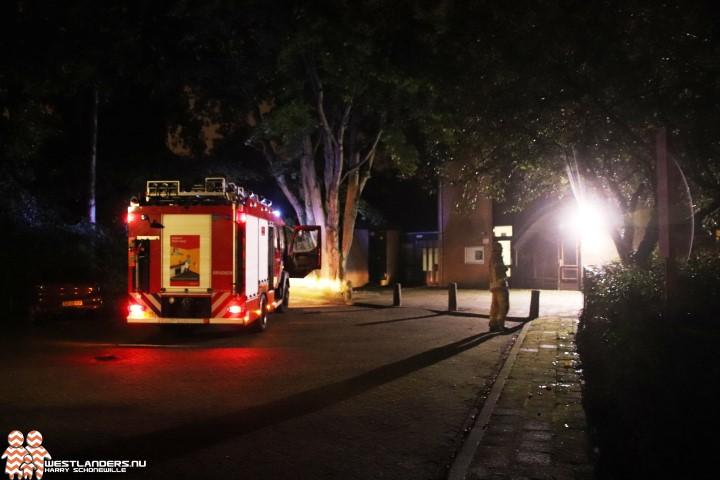 Kleine binnenbrand bij Hoeks jongerenopvangtehuis