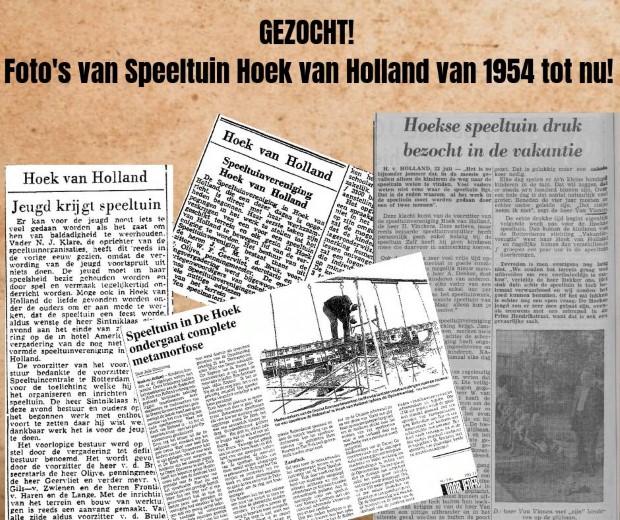 Jubileum speeltuin Hoek van Holland