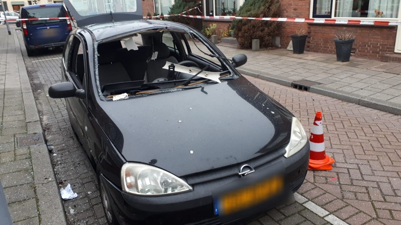 Politie zoekt getuigen explosie Hoek van Holland