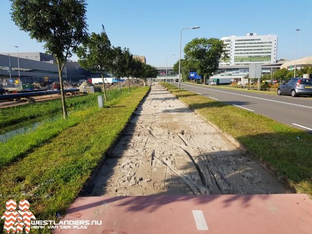 Rijbaan Middel Broekweg afgesloten vanwege werkzaamheden