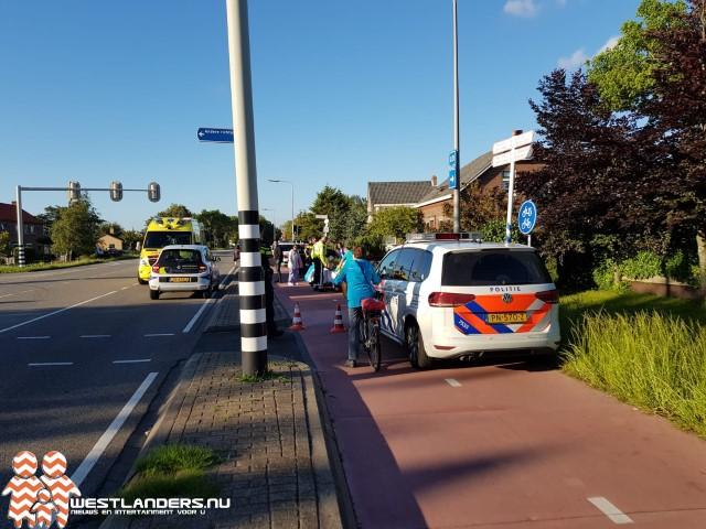 Wielrenners gewond na ongeluk N466