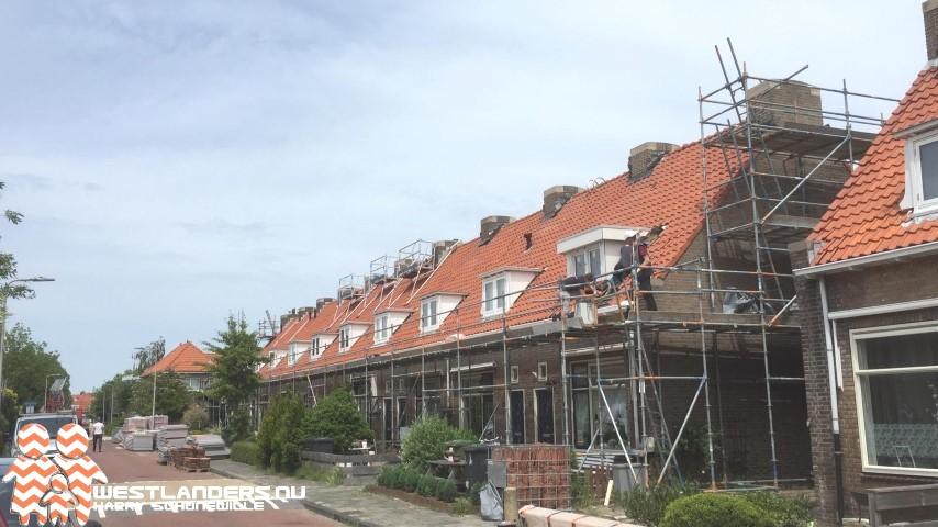 Onderhoud aan woningen Van der Goesstraat een rommeltje