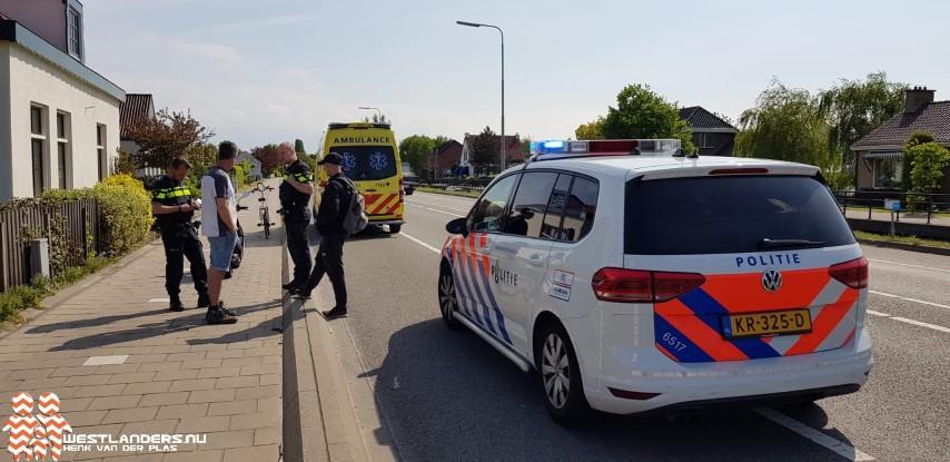 Scooterrijder gewond bij ongeluk Nieuweweg
