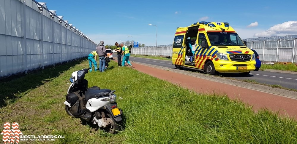 Fietser gewond na ongeluk Zuidwijckweg