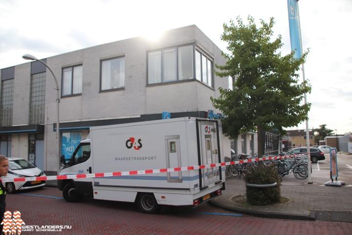 Overval op geldloper bij Albert Heijn