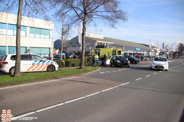 Jonge fietser gewond na ongeluk Nieuweweg
