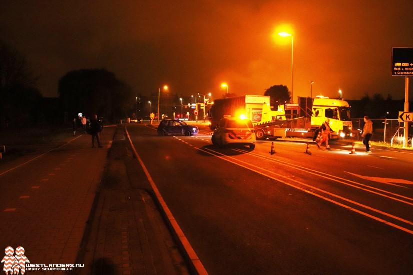Automobilist gevlucht na ongeluk N465