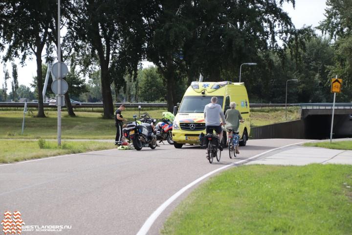 Vrouw gewond na eenzijdig ongeval Westgaag