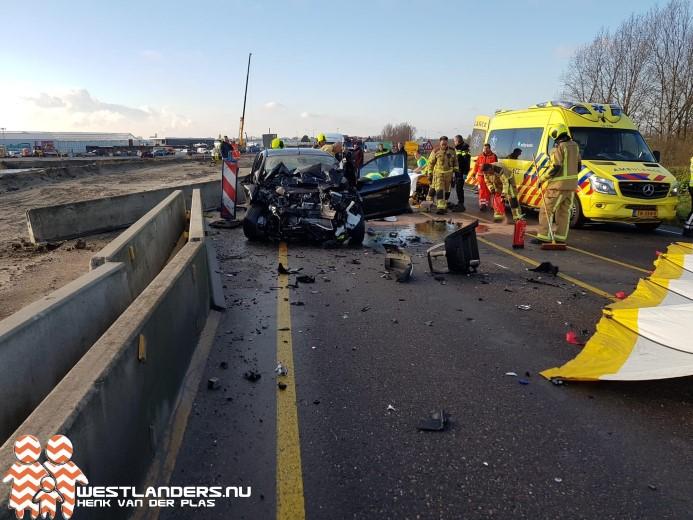 Automobilist overleden na ongeluk Veilingroute