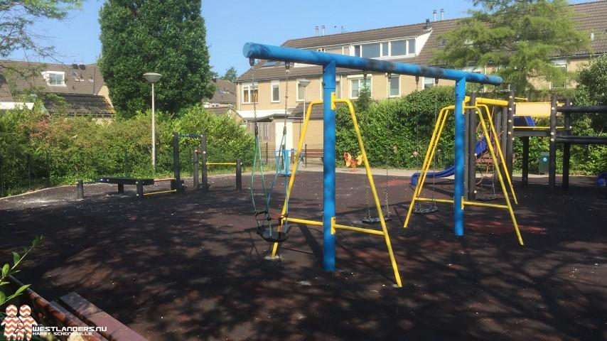 Rondvragen inzake overlast en vernielingen speeltuinen Honselersdijk