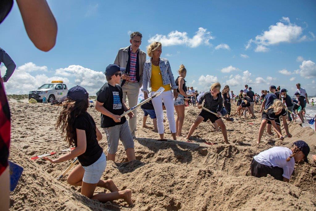 Bernadetteschool wint Battle of the Beach
