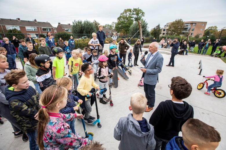Skatepark Meerkoet 's-Gravenzande feestelijk geopend