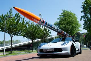 Studententeam DARE onthult ruimte-raket