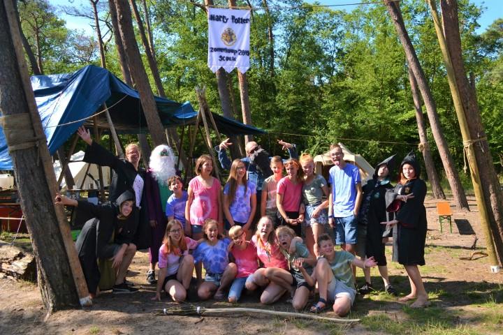 Scouts van Graaf Floris op betoverend zomerkamp