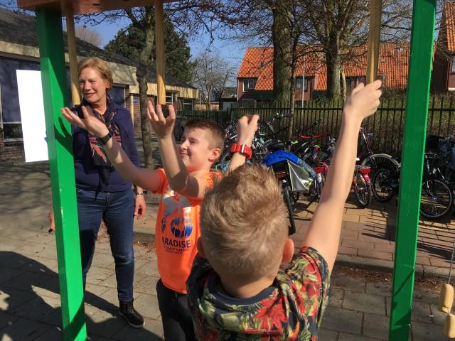 Oud-Hollandse spelletjes met opa's en oma's