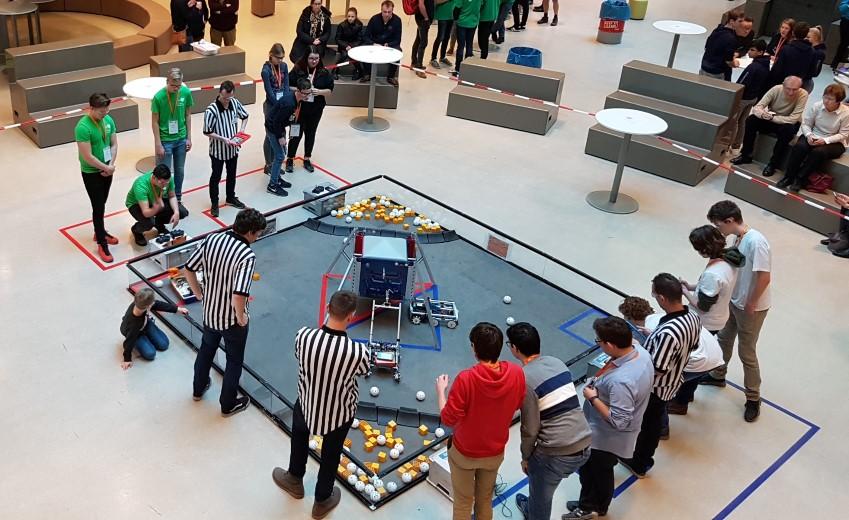 O&O-leerlingen gekwalificeerd voor NK robotwedstrijd