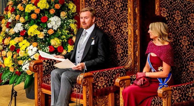 Troonrede op Prinsjesdag 2019
