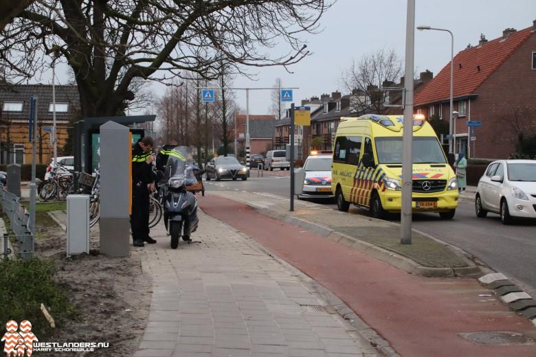 Voetganger gewond bij ongeluk bushalte