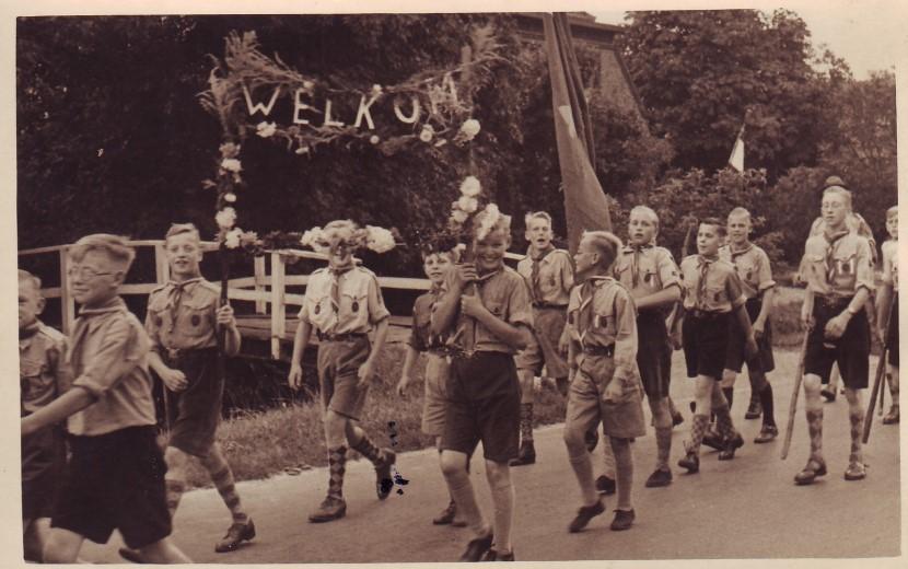 Historisch café over Scouting Kwintsheul
