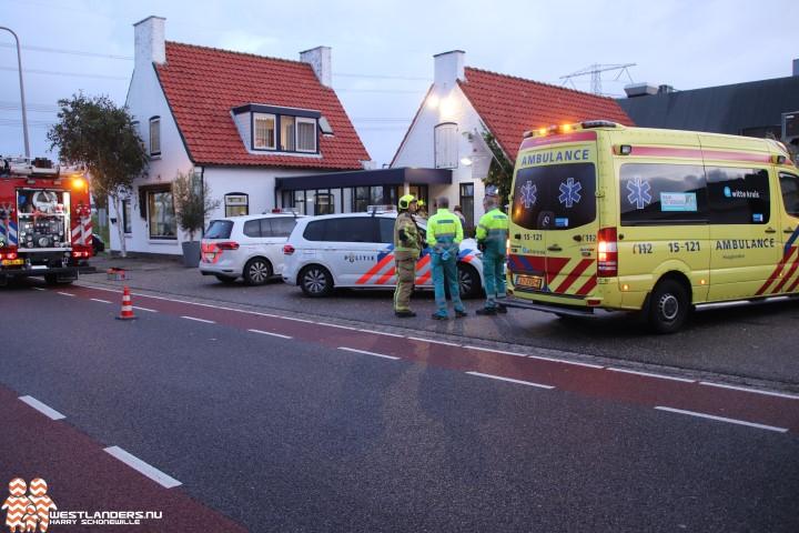 Zwaargewonde bij bedrijfsongeval Lange Kruisweg