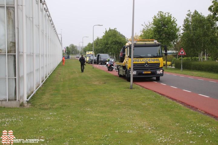 Twee gewonden bij ongeluk Lange Kruisweg