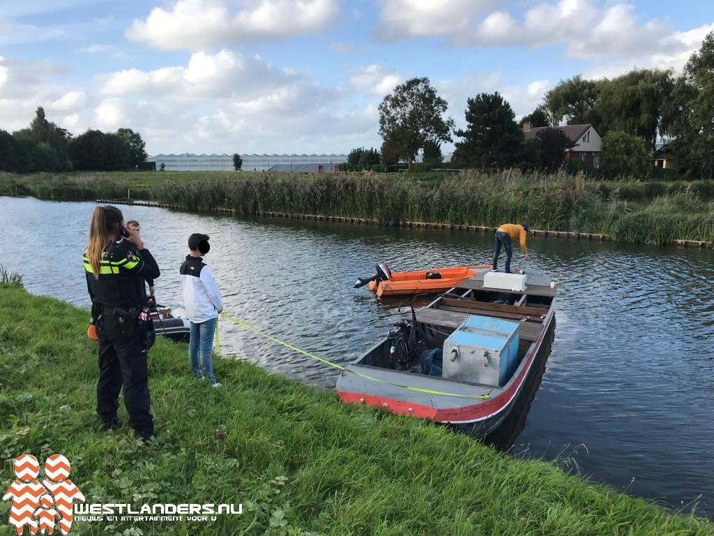 Klopjacht op bootdieven blijkt misverstand