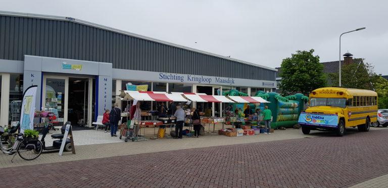 Overzicht giften Kringloop Maasdijk in 2018