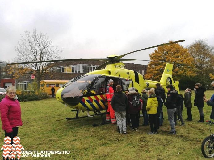 Medische noodsituatie in Maassluis