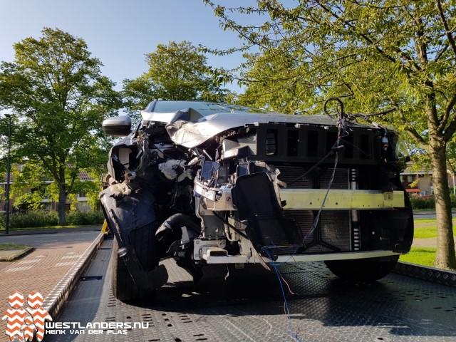 Twee gewonden bij ongeluk Rozenlaan