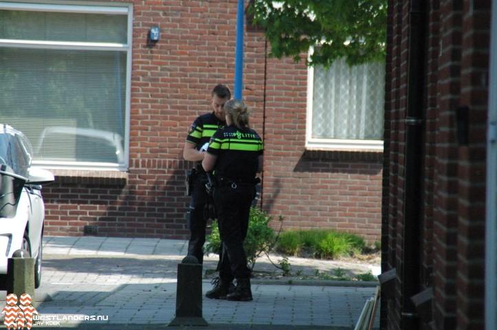 Pakketbezorger overvallen in Maassluis