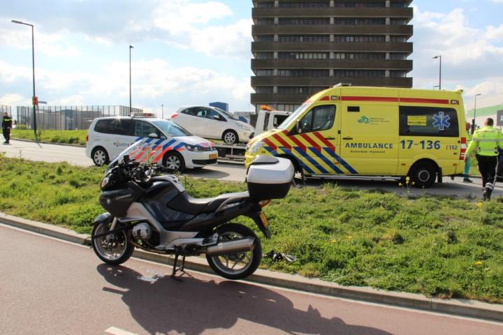 Motorrijder gewond na ongeluk Maassluissedijk
