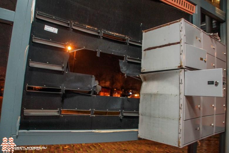 Brievenbussen opgeblazen met vuurwerkbom
