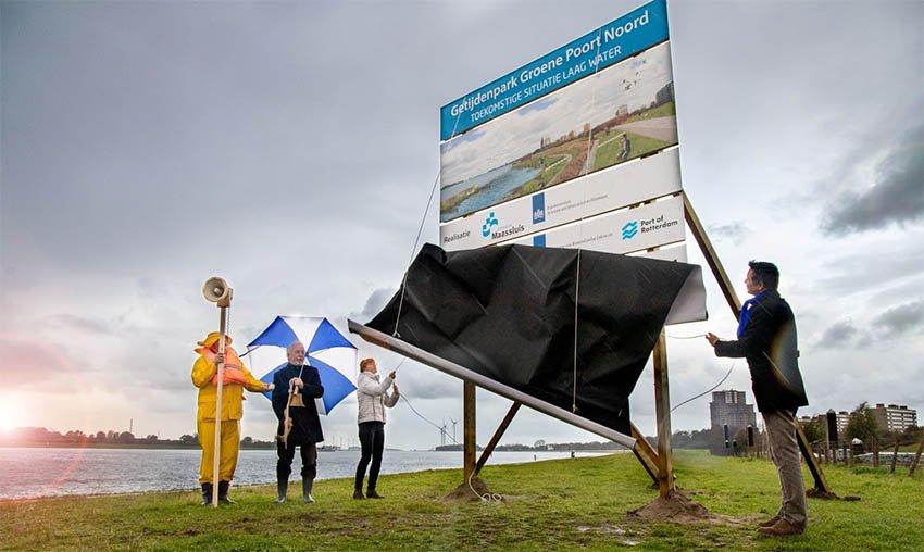 Maassluis start met aanleg getijdenparken