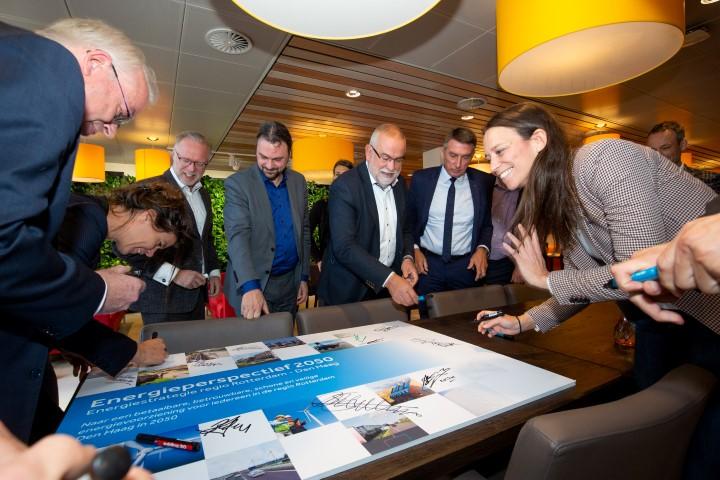 Energieperspectief 2050 ondertekend