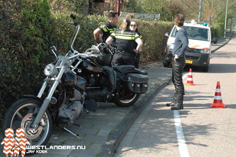 Motorrijder gewond na eenzijdig ongeluk