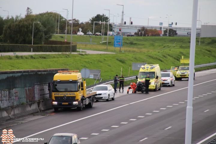 Incidenten op de A4 tijdens avondspits
