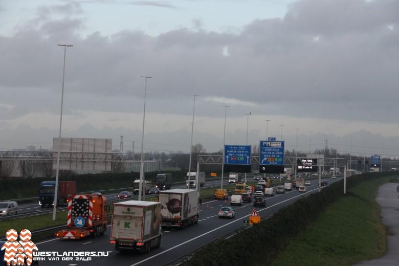 Twee ongelukken op de A4 tijdens ochtendspits