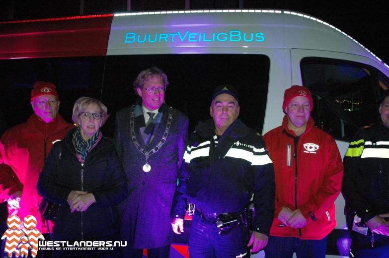 Buurtveilig bus gepresenteerd in Maasland