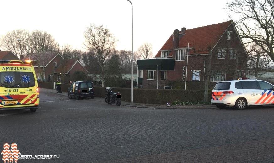Motorrijder gewond bij ongeluk Molenweg