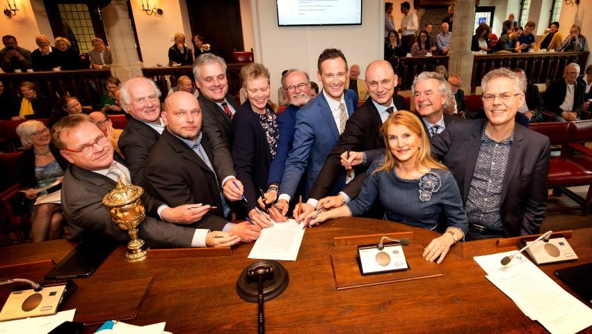 Nieuw Algemeen Bestuur Hoogheemraadschap Delfland beëdigd