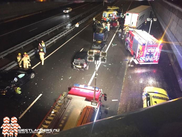Roemeense chauffeur aangehouden na zwaar ongeluk A4