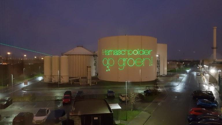 Groene afvalwaterzuiveringsinstallatie Delfland in gebruik